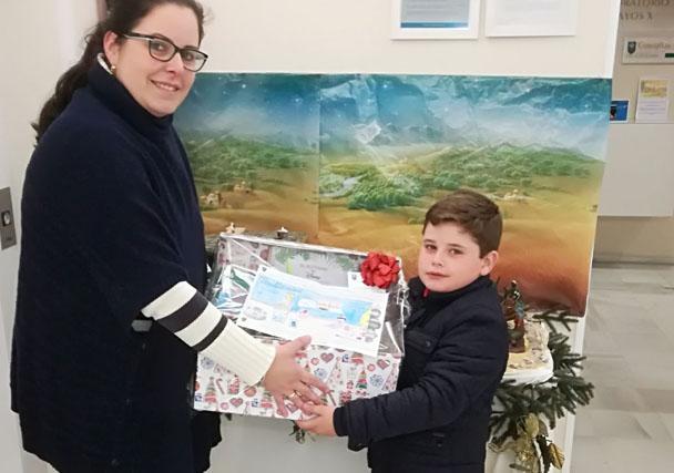 Enorme participación en el concurso de dibujo navideño