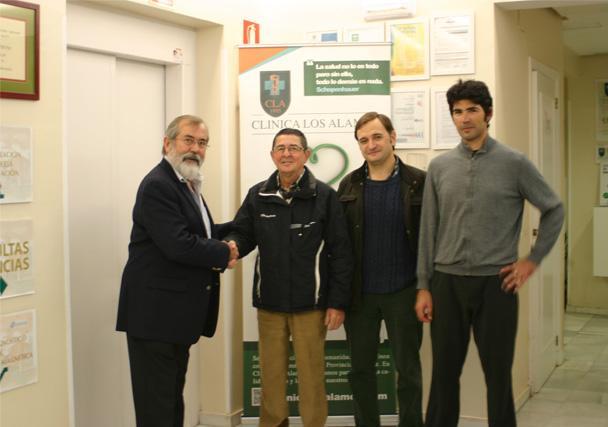 Clínica Los Álamos, patrocinador principal del Club Ciclista Jerez