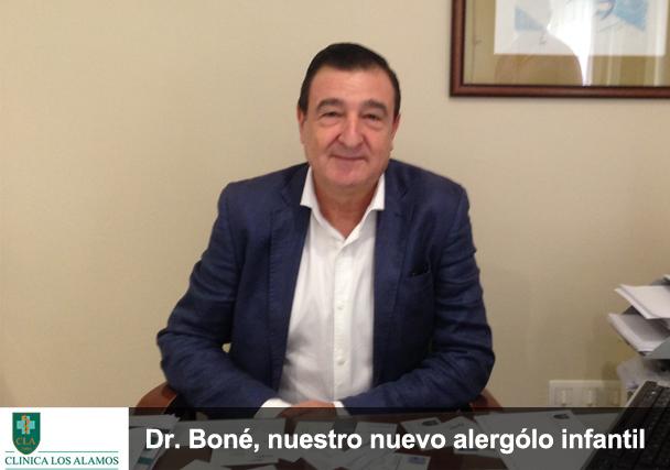 Ampliamos nuestros servicios: el Dr. Boné, nuevo alergólogo infantil