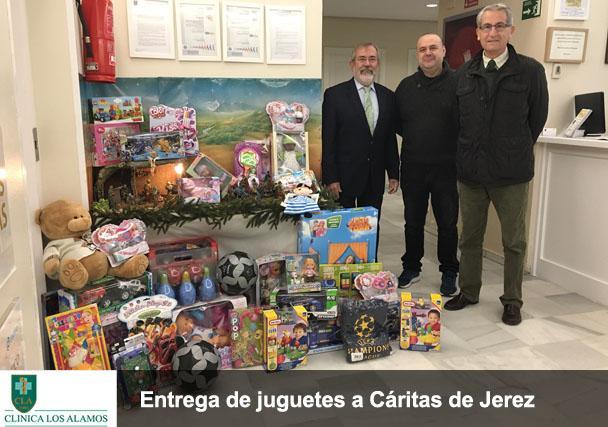 ¡Enorme éxito en la donación de juguetes!