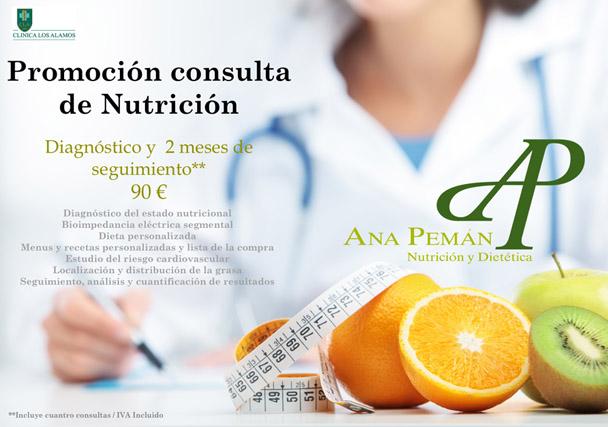 ¿Has visto nuestra promoción en la consulta de nutrición?