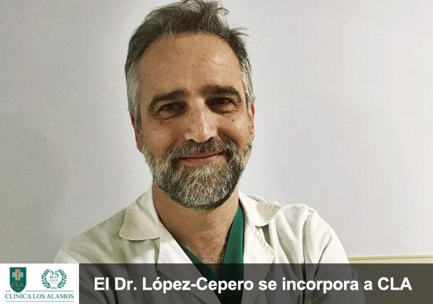 El Dr. López-Cepero, especialista en digestivo, ya pasa consulta