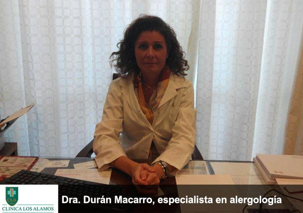 Incorporamos a la Dr Susana Durán, especialista en alergias